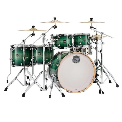 Mapex Armory Fast Fusion Drum Kit 10x7, 12x8, 14x12, 16x14 22x18 bassdrum with Tomahawk Snare