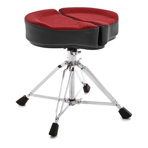 Ahead Spinal Glide Drum Throne - Saddle Top w/ 4 legs base