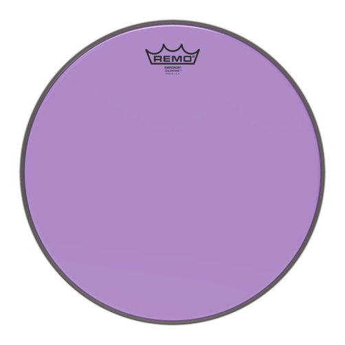Remo Emperor Colortone Purple Drum Heads