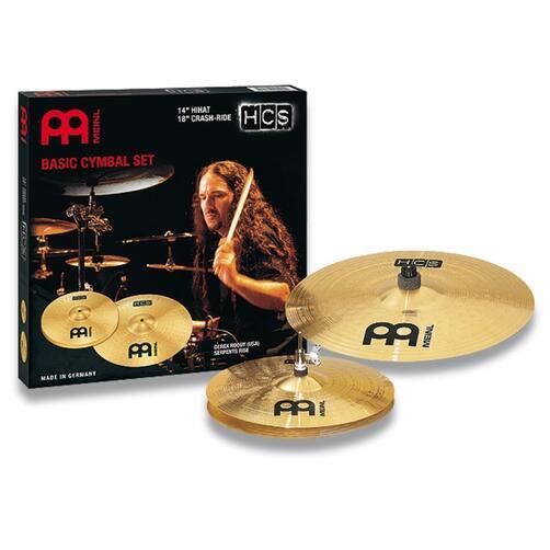 Meinl HCS Basic 14/18 Cymbal Set HCS1418