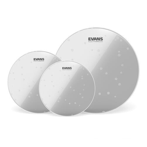 Evans Hydraulic Glass Drum Head Packs