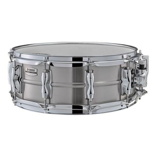 "Yamaha Recording Custom 14"" x 5.5"" Stainless Steel Snare Drum - RLS1455"