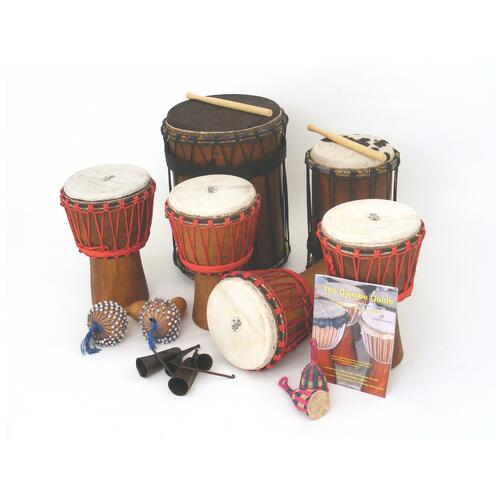 African Drumming Kit - for 12 younger players