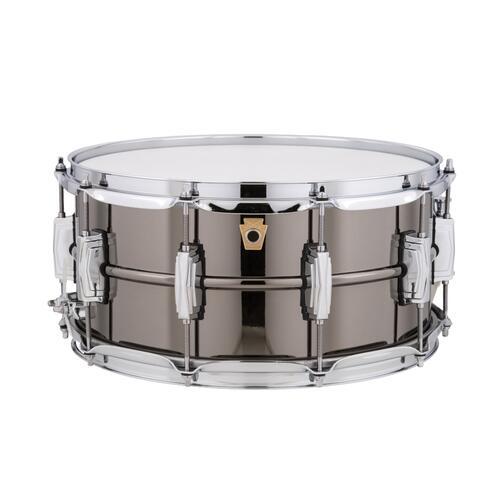 "Ludwig Black Beauty 14x6.5"" LB417 Supra-phonic Classic Lug Snare Drum"