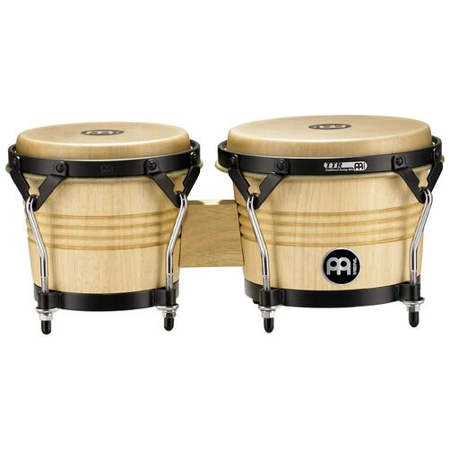 "Meinl Luis Conte Series 6 3/4"" & 8"" Wood Bongo, Natural Finish"
