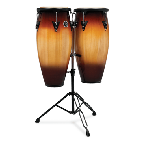 "Latin Percussion Aspire Wood Congas 10"" & 11"" Set (LPA646B-VSB)"