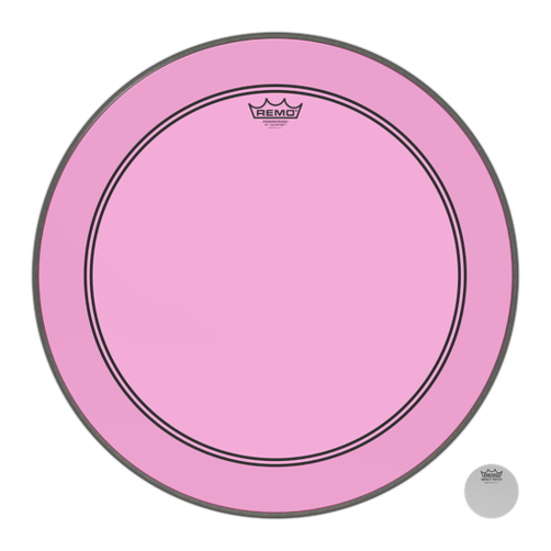 Remo Powerstroke 3 Colortone Pink Bass Drum Heads