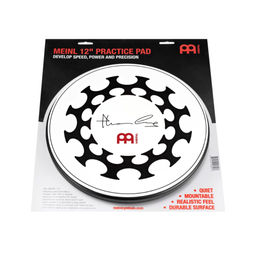 Meinl 12 inch Practice Pad Thomas Lang Design - MPP-12-TL