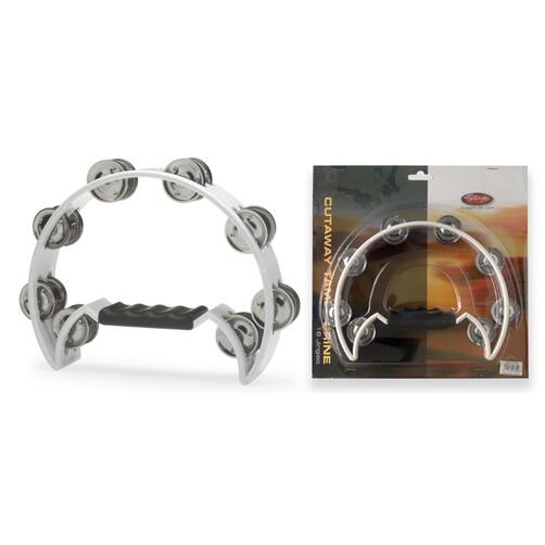 Stagg Single Row Tambourines with 16 jingles