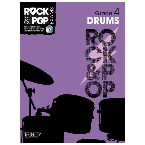 Trinity College London: Rock & Pop Drums - Grade 4