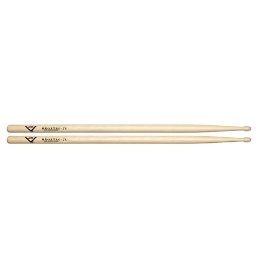 Vater VH7AN Hickory Manhattan 7A Nylon Tip Drum Sticks