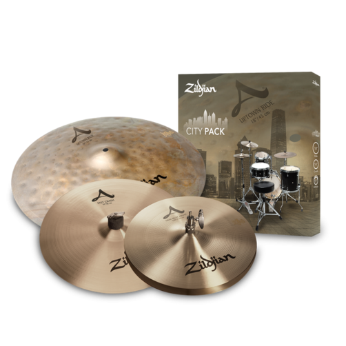 Zildjian A City Cymbal Box Set - ACITYP248