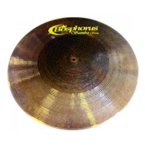 "Bosphorus Samba Series 21"" Flat Ride Cymbal"