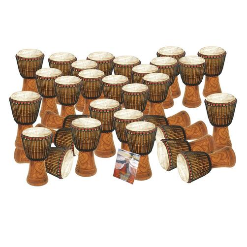 30 Player Bucara Tweneboa Djembe (Key Stage 3)