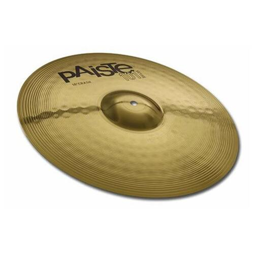 Paiste 101 Brass Crash Cymbals