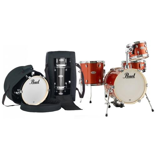Pearl Midtown 4 Piece Shell Pack in Orange Crush