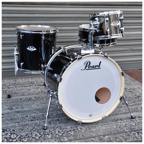 "Pearl Export 10"", 14"" 20"" Fusion Kit Shell Pack in Jet Black"