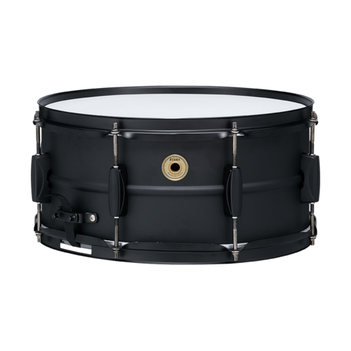 """Tama Metalworks 14""""x 6.5"""" Black Steel Snare Drum (BST1465BK)"""