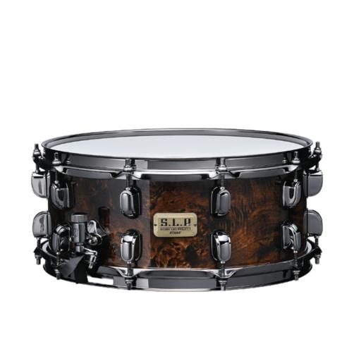 """Tama S.L.P. G-Maple 14""""x6"""" Snare Drum in Kona Mapa Burl (LGM146-KMB)"""