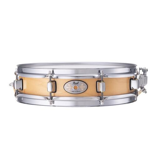 "Pearl 13"" x 3"" Maple Piccolo Snare Drum, 6 ply Natural Maple"