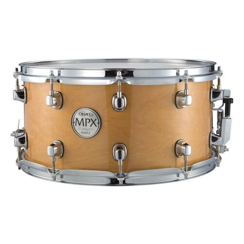 """Mapex 14""""x 7"""" Snare Drum MPX Series Natural Finish"""
