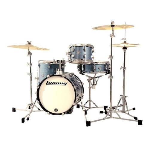 Ludwig Questlove Breakbeats Shell Pack - Azure Sparkle
