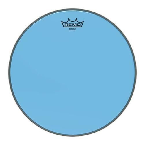 Remo Emperor Colortone Blue Drum Heads
