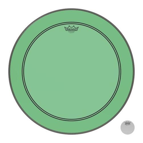 Remo Powerstroke 3 Colortone Green Bass Drum Heads