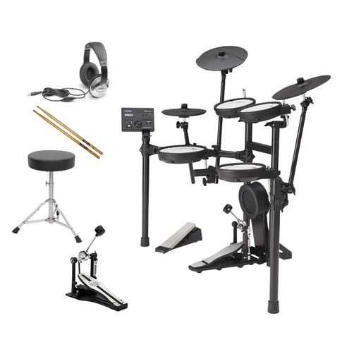 Roland TD-07KV V-Drum Electronic Drum Kit BUNDLE