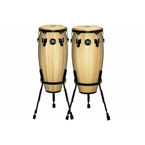 "Meinl Headliner Congas 10"" & 11"" with Basket Stands"