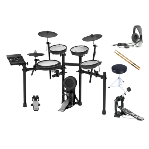 Roland TD-17KV V-Drums Electronic Drum Kit Bundle