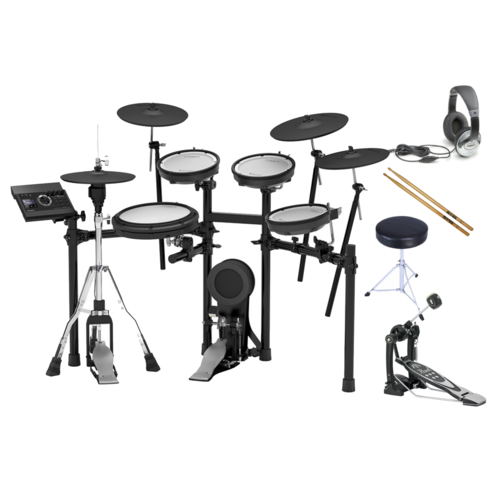 Roland TD-17KVX V-Drum Electronic Drum Kit Bundle