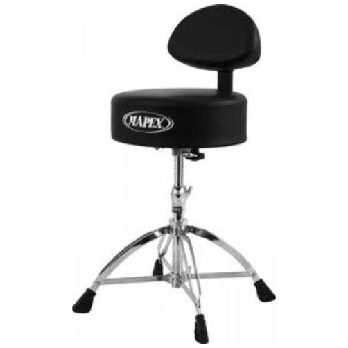 Mapex T770 Round Drum Throne with Back Rest
