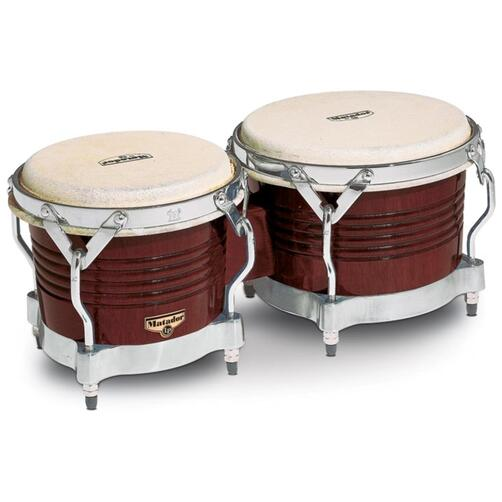 LP Matador Wood Bongos (Dark Brown)
