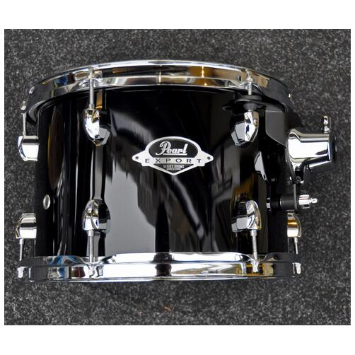 "Pearl 12"" x 8"" Pearl Export Tom in Jet Black *Ex-Demo*"