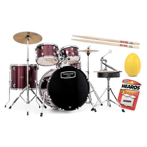 Mapex Tornado III Drum Kits with accessory bundle