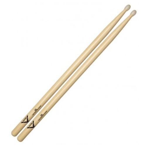 Vater VH5BN Hickory 5B Nylon Tip Drumsticks