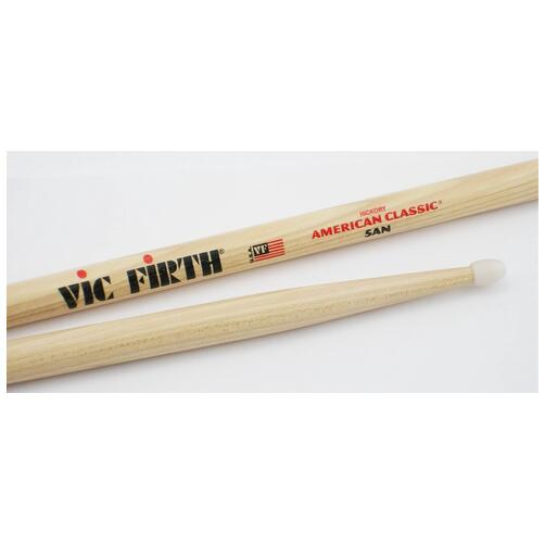 Vic Firth 5AN American Classic Nylon Tipped Drumsticks