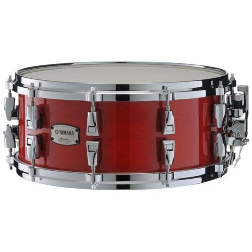 Yamaha Absolute Hybrid Maple Snare Drum, 14x6in, Red Autumn