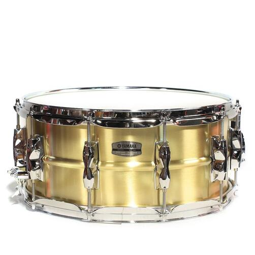 "Yamaha Recording Custom 14"" x 5.5"" Brass Snare Drum - RRS1455"