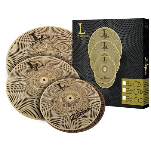 Zildjian L80 Low Volume 348 Cymbal Box Set 13,14,18