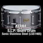 """Video thumbnail 0 - Tama S.L.P. 14"""" x 6.5"""" Sonic Stainless Steel (LSS1465)"""