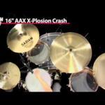 Video thumbnail 0 - Sabian AAX X-plosion Crash Cymbals