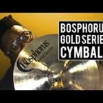 Video thumbnail 0 - Bosphorus Gold Series Crash Cymbals