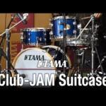Video thumbnail 0 - Tama Club Jam Suitcase Kit Shell Pack - Indigo Sparkle