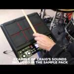 Video thumbnail 2 - Roland SPD-SX Sampling Pad V-Drums Electronic Kit