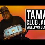 Video thumbnail 0 - Tama Club Jam Shell Pack, Aqua Blue
