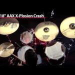 Video thumbnail 1 - Sabian AAX X-plosion Crash Cymbals