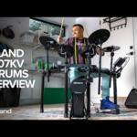 Video thumbnail 0 - Roland TD-07KV V-Drum Electronic Drum Kit BUNDLE