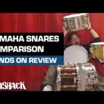 "Video thumbnail 0 - Yamaha Stage Custom Steel Snare 14"" x 5.5"" - SSS1455"